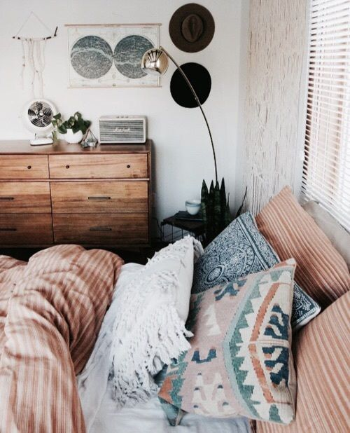 Bohemian Bedroom  Beach Boho Chic  Home Decor + Design  Free