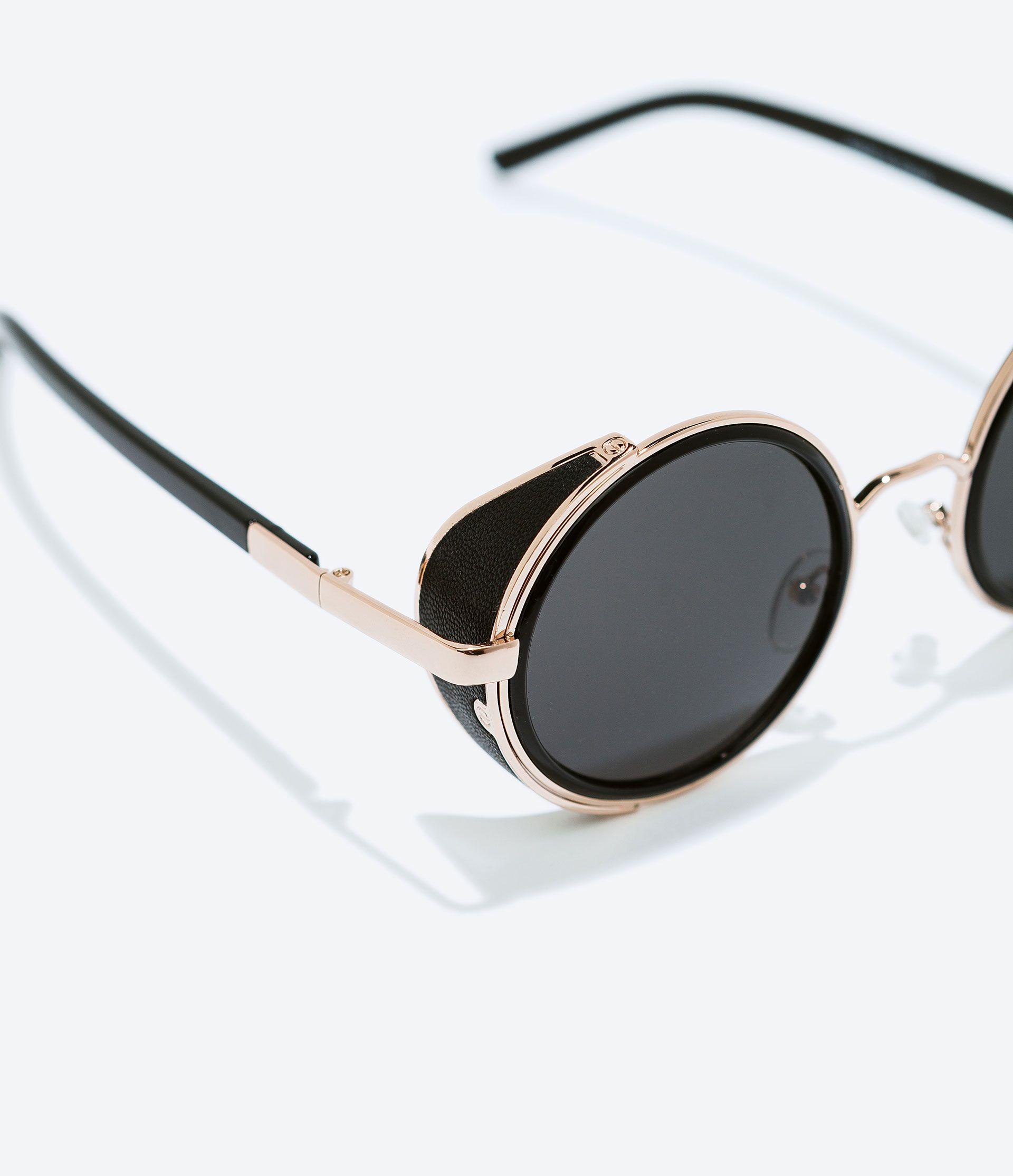 GAFAS DE SOL REDONDAS de Zara | i want it | Pinterest | Gafas de sol ...
