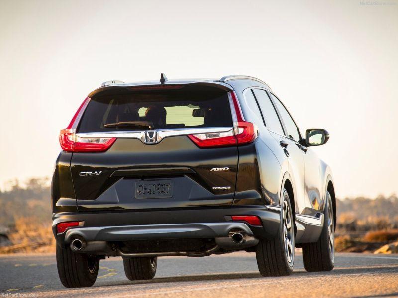 2019 Honda CR V EU sporty new AWD system exterior premium