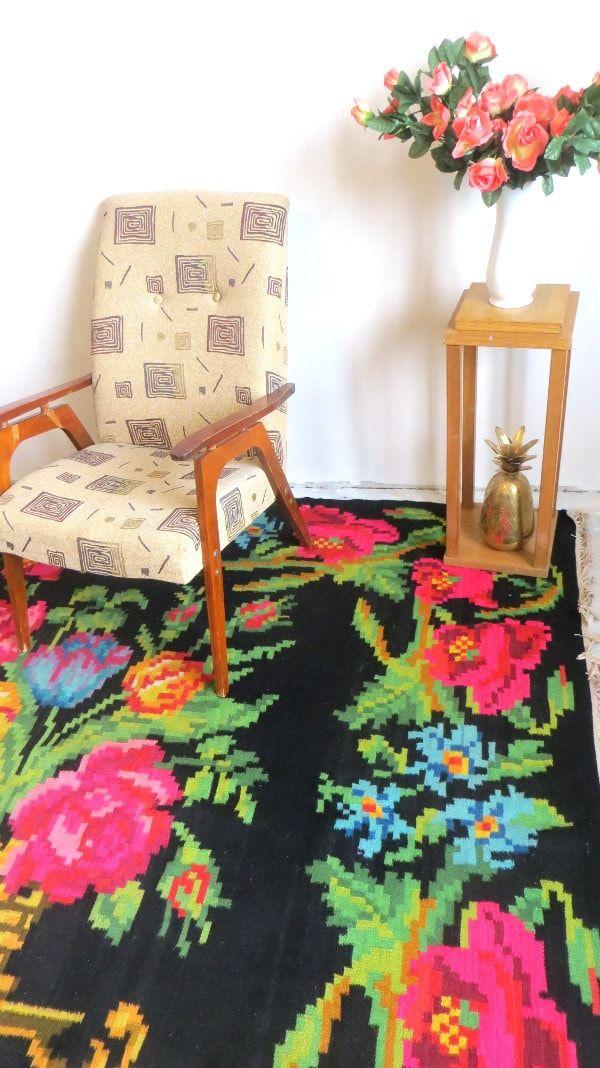 Teppich Rosa Teppich Bunt Berber Teppich Kelim Teppich Teppiche