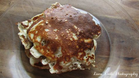 Trim and Healthy Sausage Pancakes- E