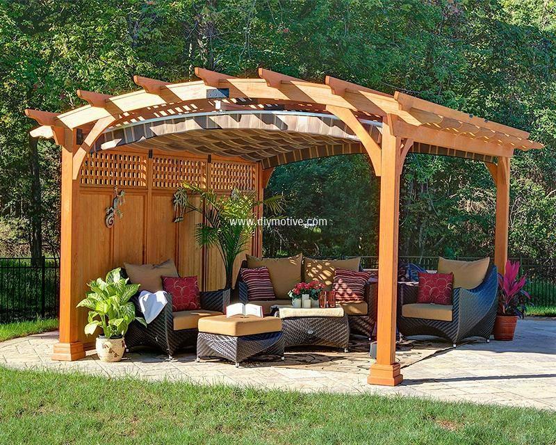 Stunning Ideas for Patio Garden Pergolas | Pergola ideas, Pergolas ...
