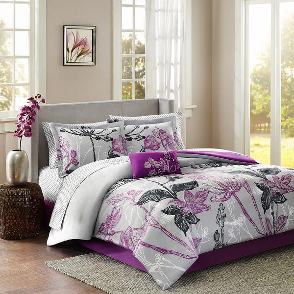 Madison Park Apartments California: Madison Park Essentials Nicolette 9-piece Complete Bed Set