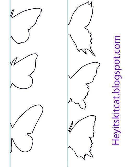 Heyitskitcat: DIY Butterfly Wall Decor: