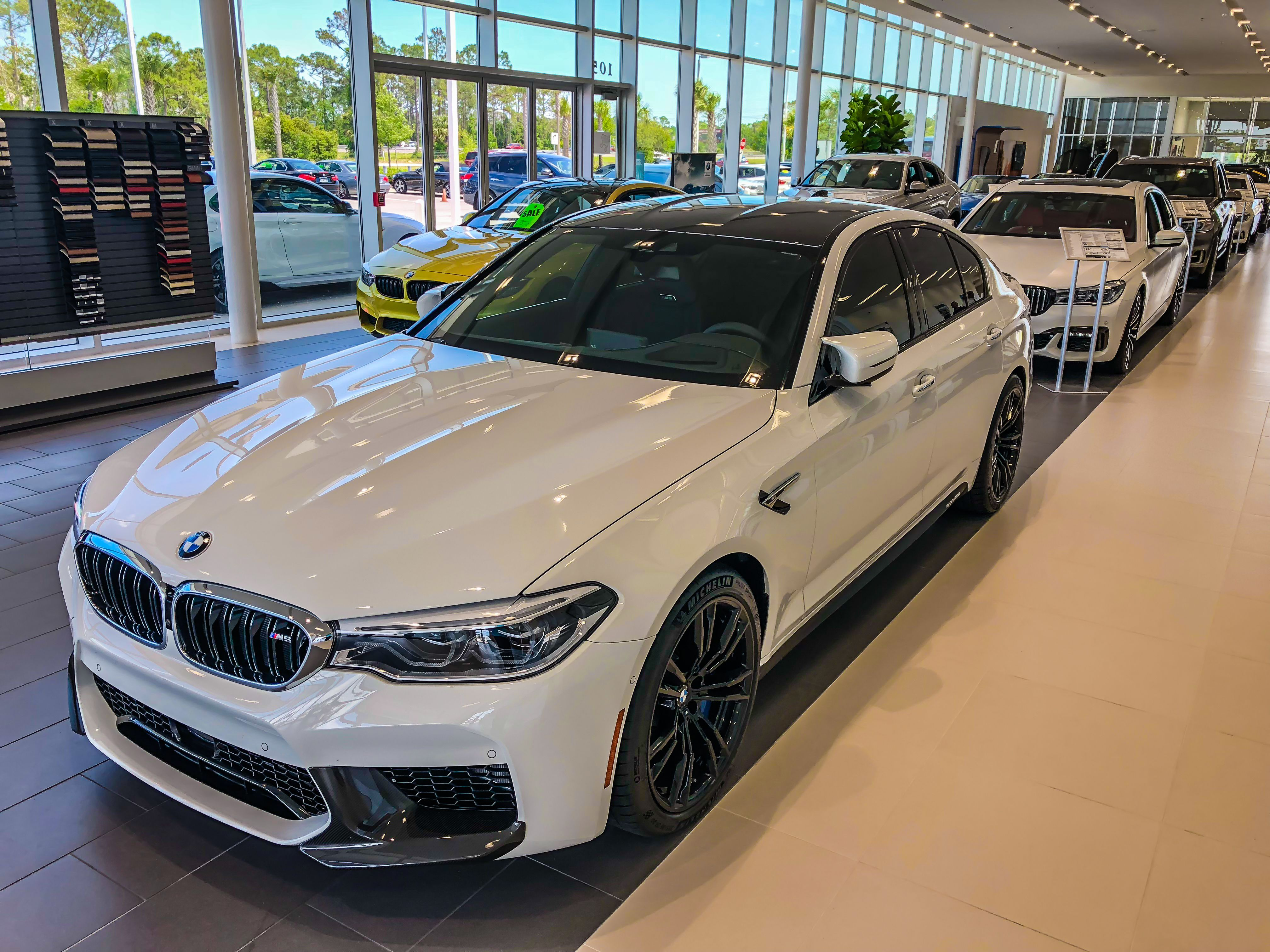 Check Out These Photos From Our Team Member Andrew S Of The All New 2018 Bmw M5 Available Now Fieldsbmw In Daytonabeac Bmw Bmw Dealer Dream Cars Bmw