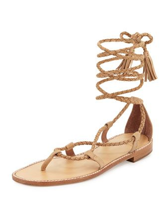70c4d2dd5a4 Bailee+Lace-Up+Flat+Gladiator+Sandal
