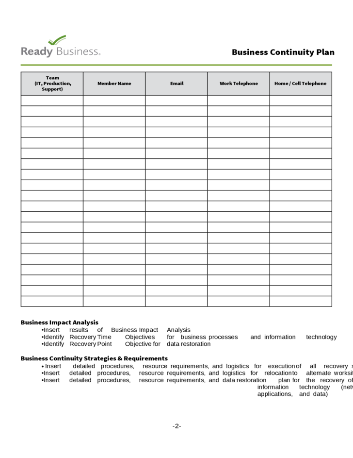 Business continuity plan checklist template 28 images news to go 2 business continuity plan checklist template 28 images cheaphphosting Image collections