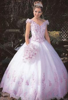 fd2bd729c Lindos vestidos de 15 años estilo princesa
