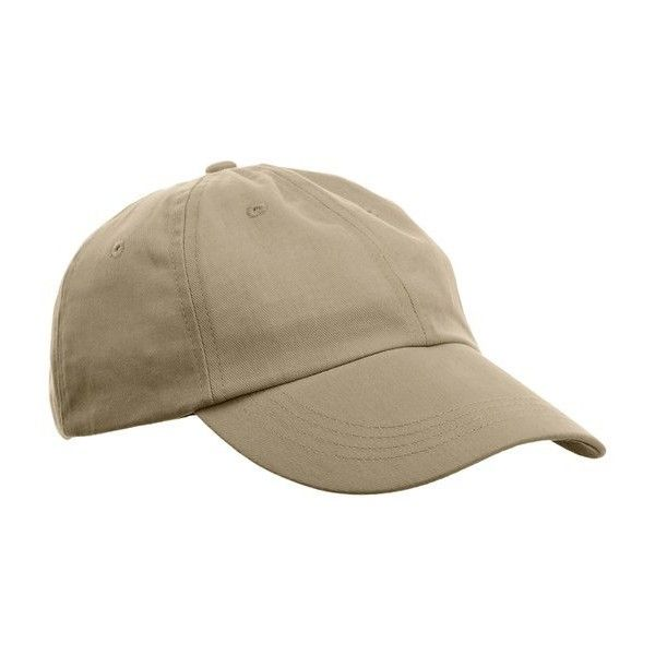 Anvil Unisex Low-Profile Brushed Twill Cap ($6.45) ❤ liked on Polyvore featuring accessories and hats