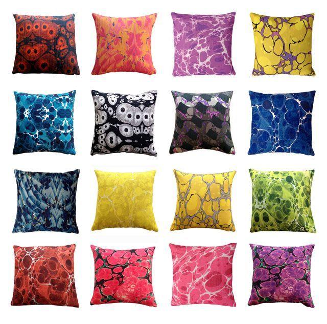 Résultat d'images pour marbling cushion