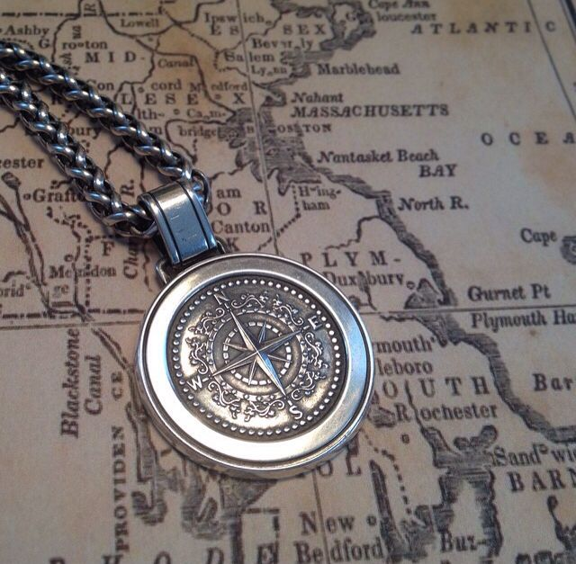 Wear Our Compass Rose Pendant To Guide You Through Your Adventures Compass Rose Pendant Timeless Jewelry Favorite Jewelry