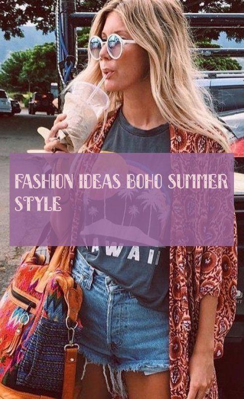 Fashion Ideas Boho Summer Style