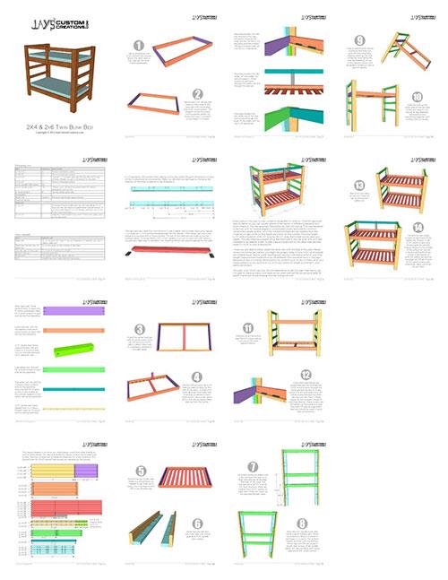 Best Build A Bunk Bed Twin Bunk Beds Bunk Beds Bunk Bed Plans 400 x 300