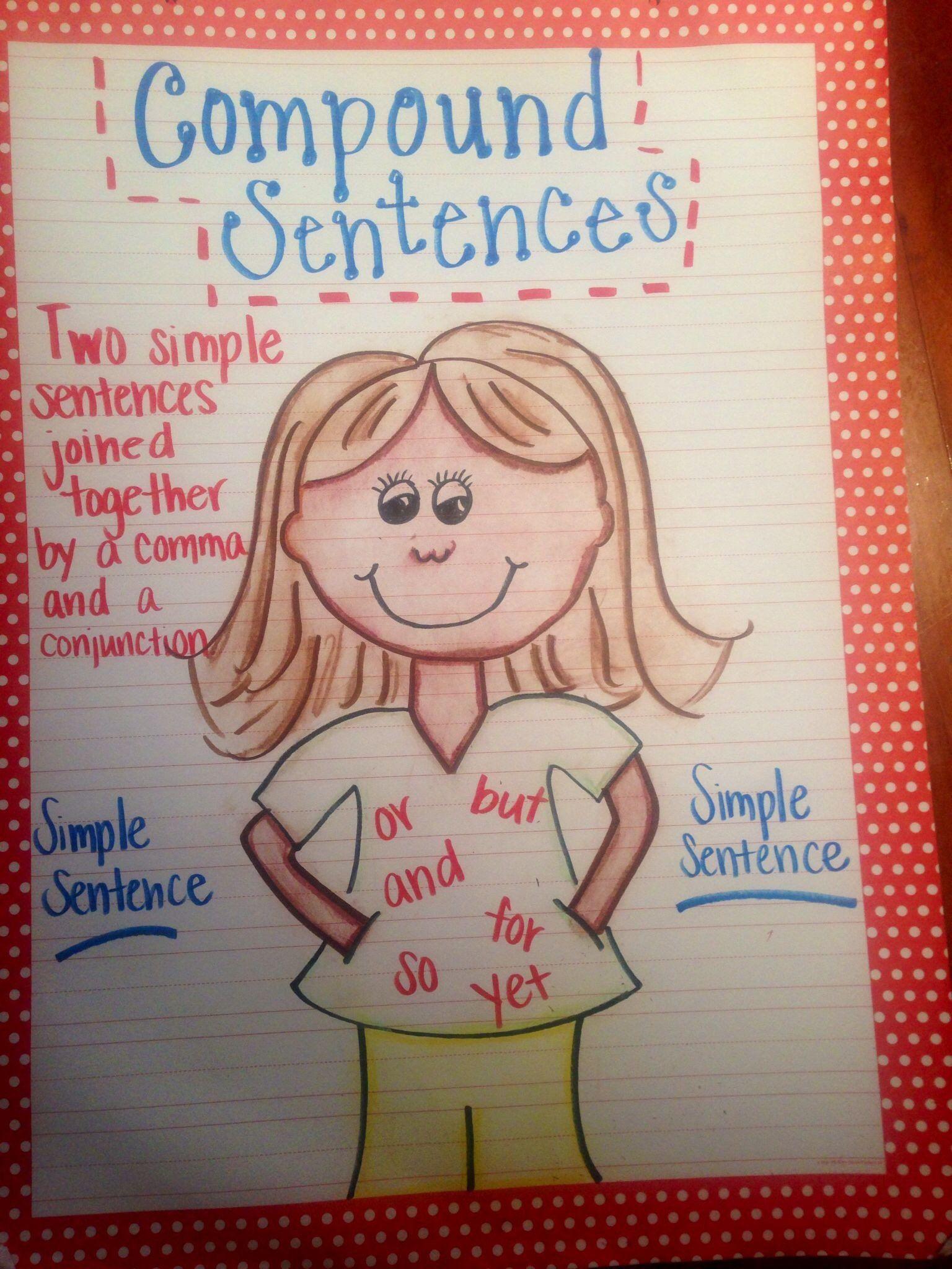 Compound And Complex Sentences Worksheet Pound Sentence
