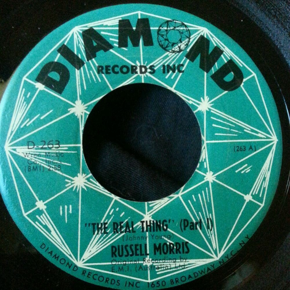 Russell Morris The Real Thing Part 1 2 45 Vg Aussie Psych Psychedelic Rock Morris Vinyl Records