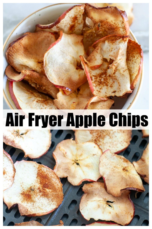 Easy Air Fryer Cinnamon Apple Chips in 2020 Apple chips