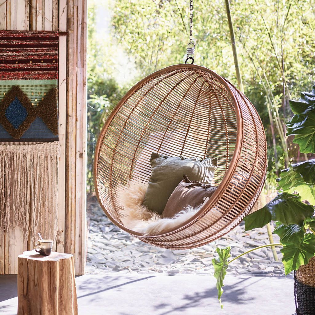 Are You Interested In Our Round Hanging Basket Chair With Our