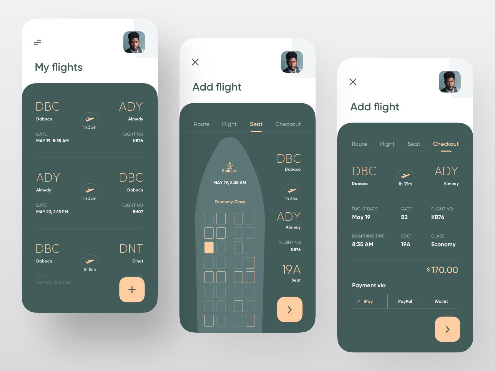 Boarding Pass App App Design Mobile App Design Ux Design Inspiration