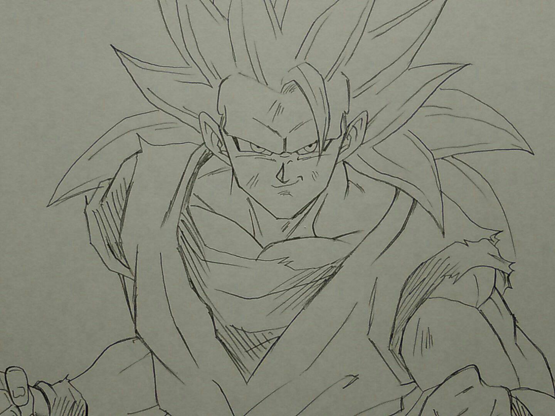 SSJ3 Goku | yo | Pinterest | Dragon ball, Dbz and Dragons
