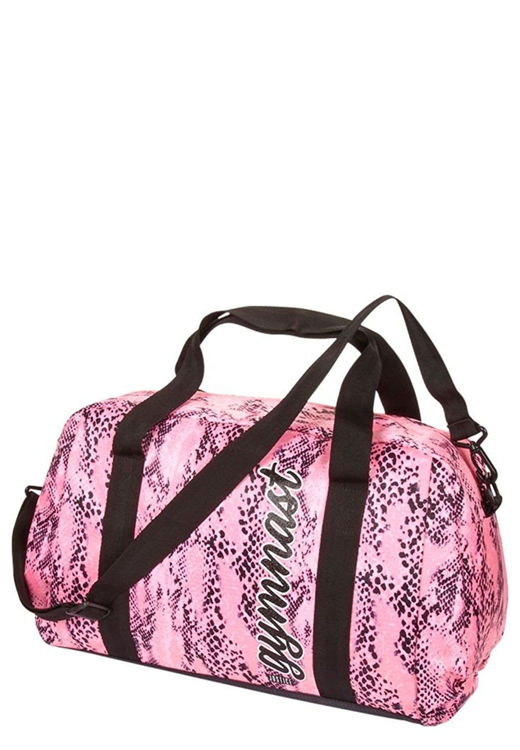 fb4ec88eb5b Justice Girls gymnast snakeskin print duffle bag * Check out the image by  visiting the link. (This is an Amazon Affiliate link and I receive a  commission ...