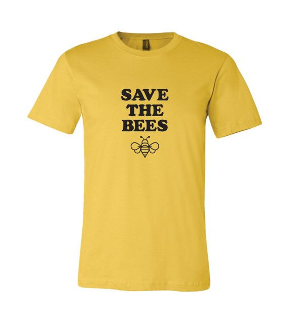 45e8a64d Honeybee Tee, Save the Bees Graphic Tee, Bumble Bee Shirt, Beekeeper Shirt,  Bee Lovers, Save the Bee