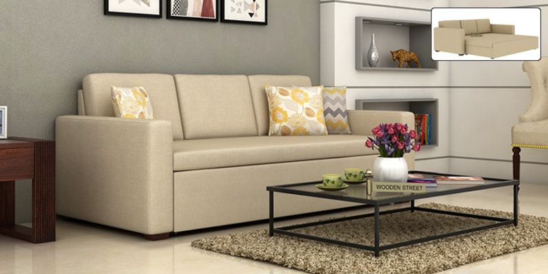Sofa Beds In Wooden Fabric Styles WoodenSpace Espen Fabric