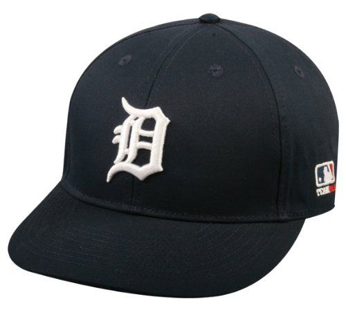 872b6eddc4240 Detroit Tigers Cap ADULT (New CF2 Visor Curved or Flat) Adjustable Hat MLB  Officially Licensed Major League Baseball Replica by Team MLB - Authentic  Sports ...