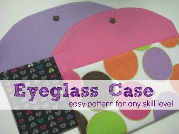 Eyeglass Case   Pinterest   Lofts, Easy and Patterns