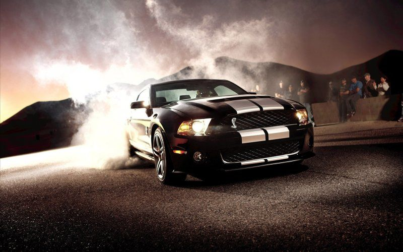 Cool Car Wallpapers Ford Mustang Shelby Gt500 In A Puff Of Smoke Download This Pictures Ford Mustang Shelby Ford Mustang Shelby Gt500 Ford Mustang Shelby Gt