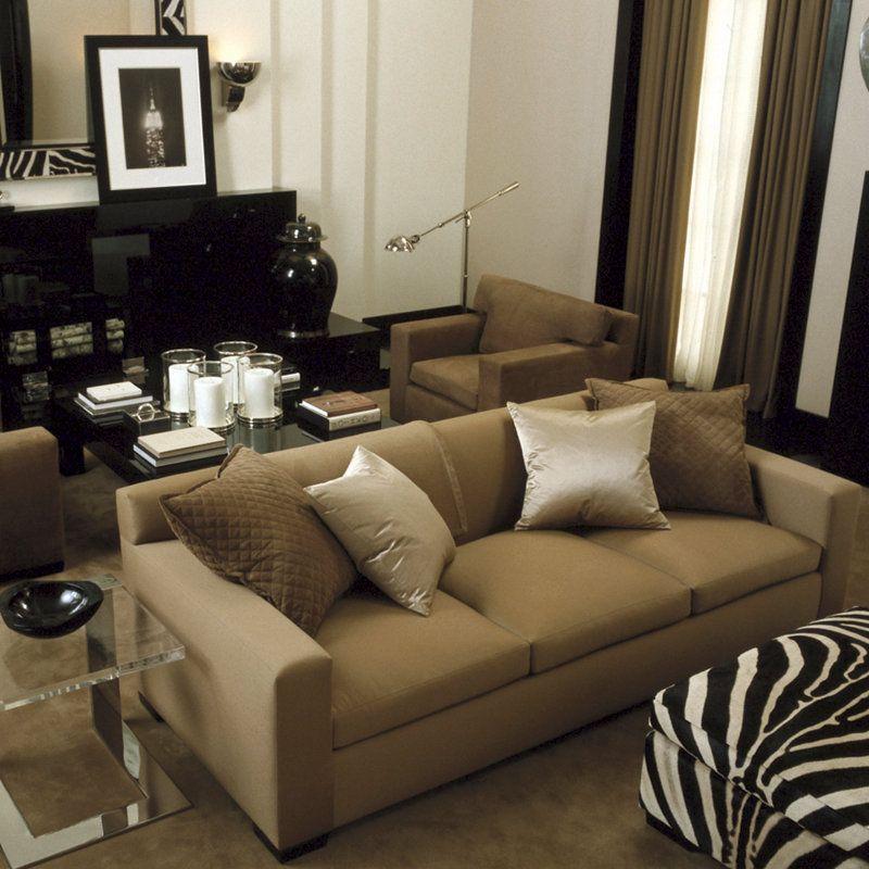 Modern Penthouse Sofa - Sofas   Loveseats - Furniture - Products - art deco mobel ralph lauren home
