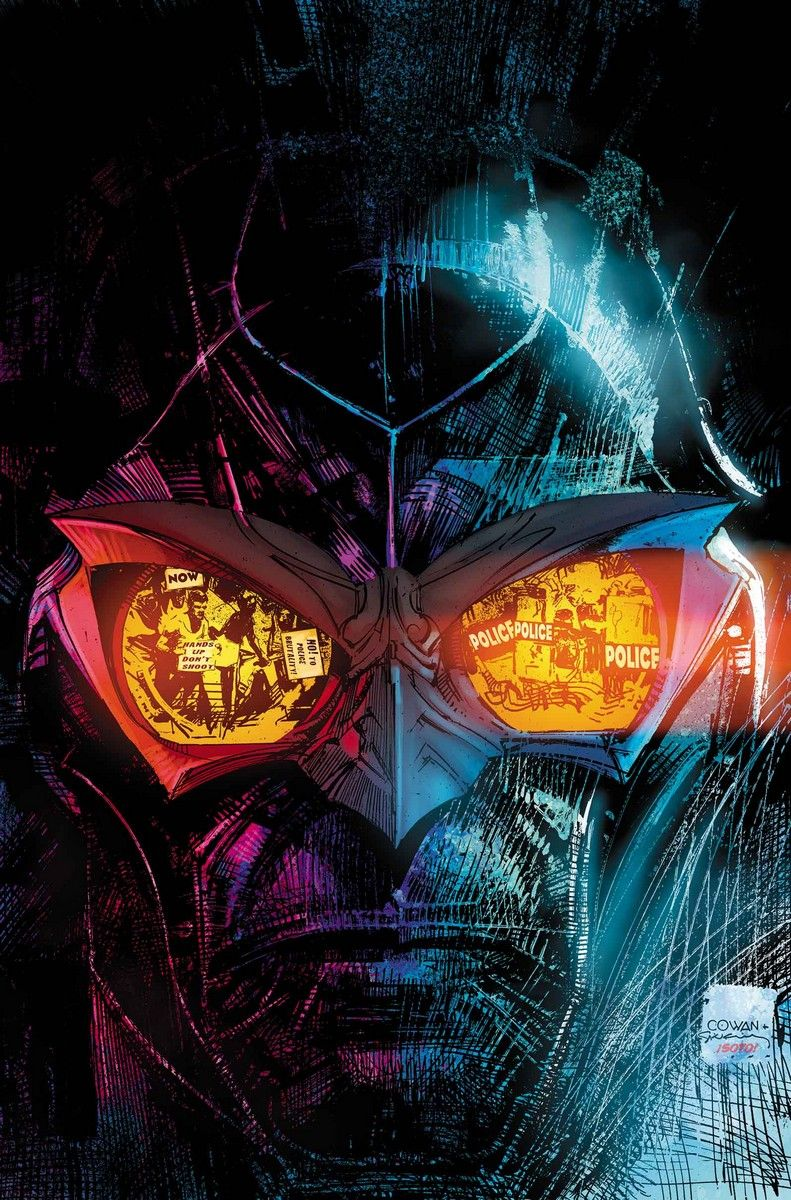 NIGHTHAWK #2. Cover by DENYS COWAN AND BILL SIENKIEWICZ