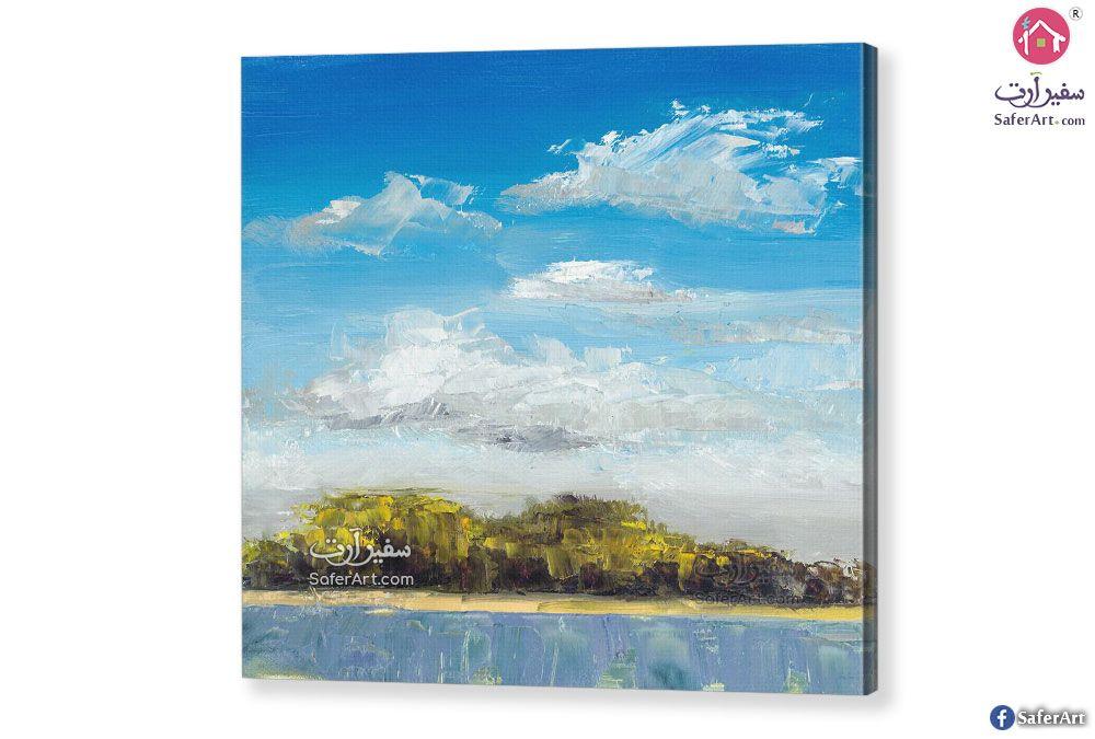 لوحات فنية منظر طبيعي سفير ارت للديكور Landscape Canvas Landscape Nature