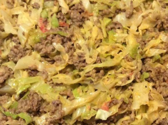 Spitzkohl mit Hackfleisch und Reis #spitzkohlrezeptehackfleisch