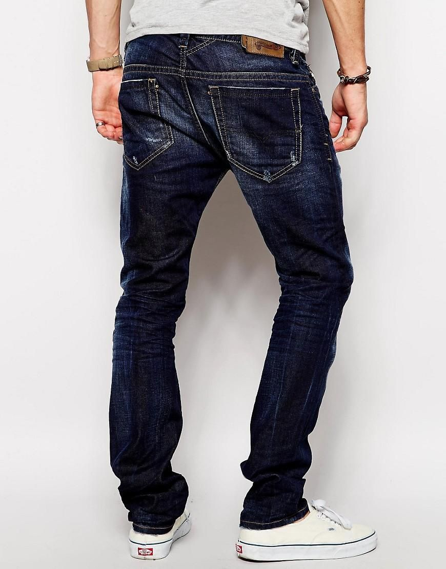 Diesel | Diesel Jeans Thavar 831Q Slim Fit Dark Wash at ASOS