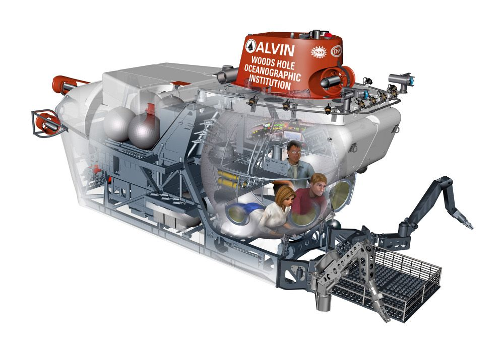 Deepest-Diving Research Submarine in the US Returns to