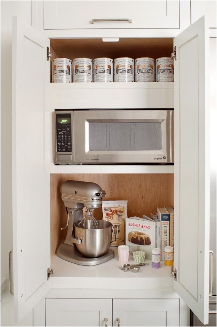 attractive Cool Kitchen Appliances Part - 10: cool kitchen appliance storage white storage cabinet two shelf from Kitchen  Appliance Stand