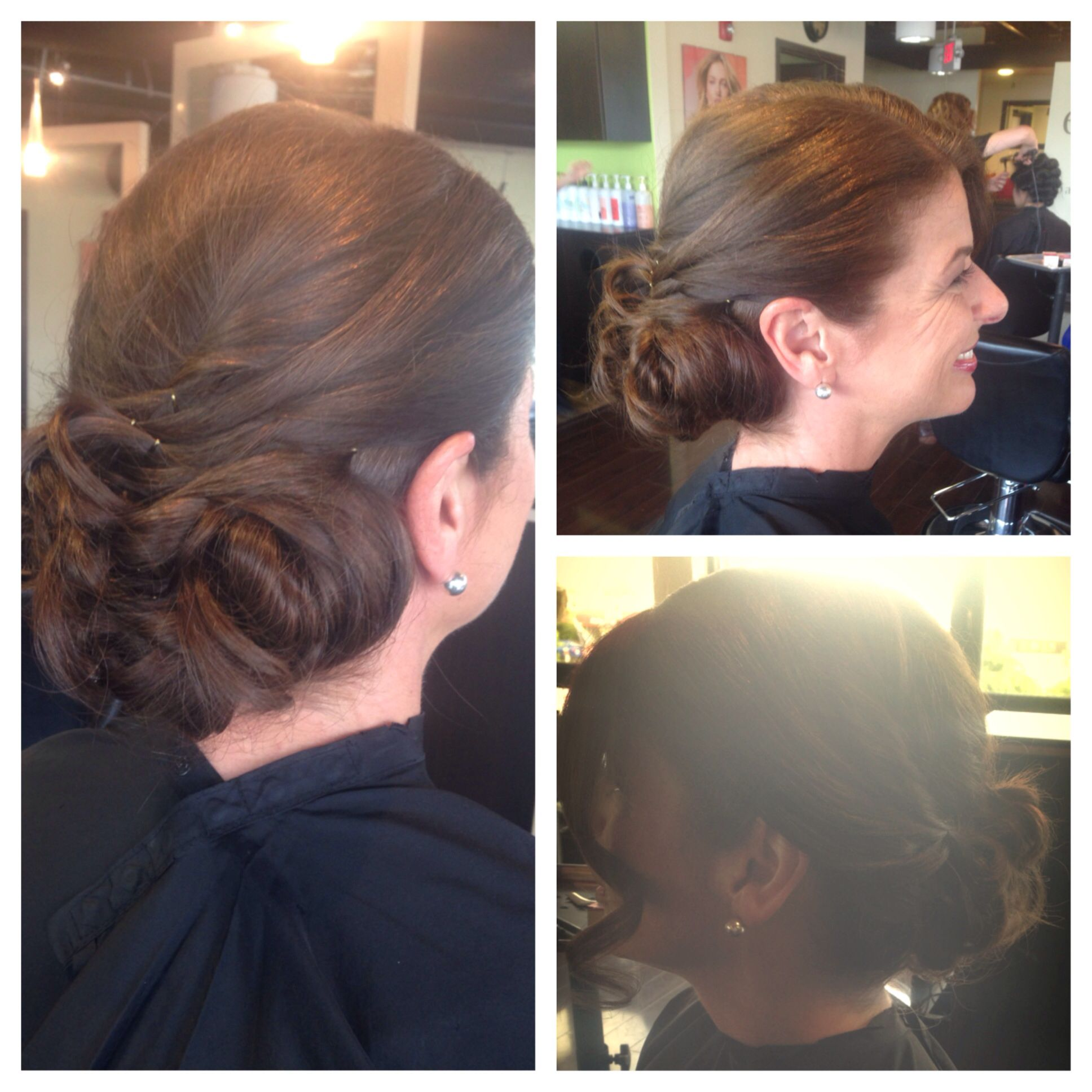 Wedding bells ringing! Updo for mother of the bride! Call 781 205 4188 to book your appointments with me! Facebook.com/hairandmakeupbylaurenbechard @embelleish salon