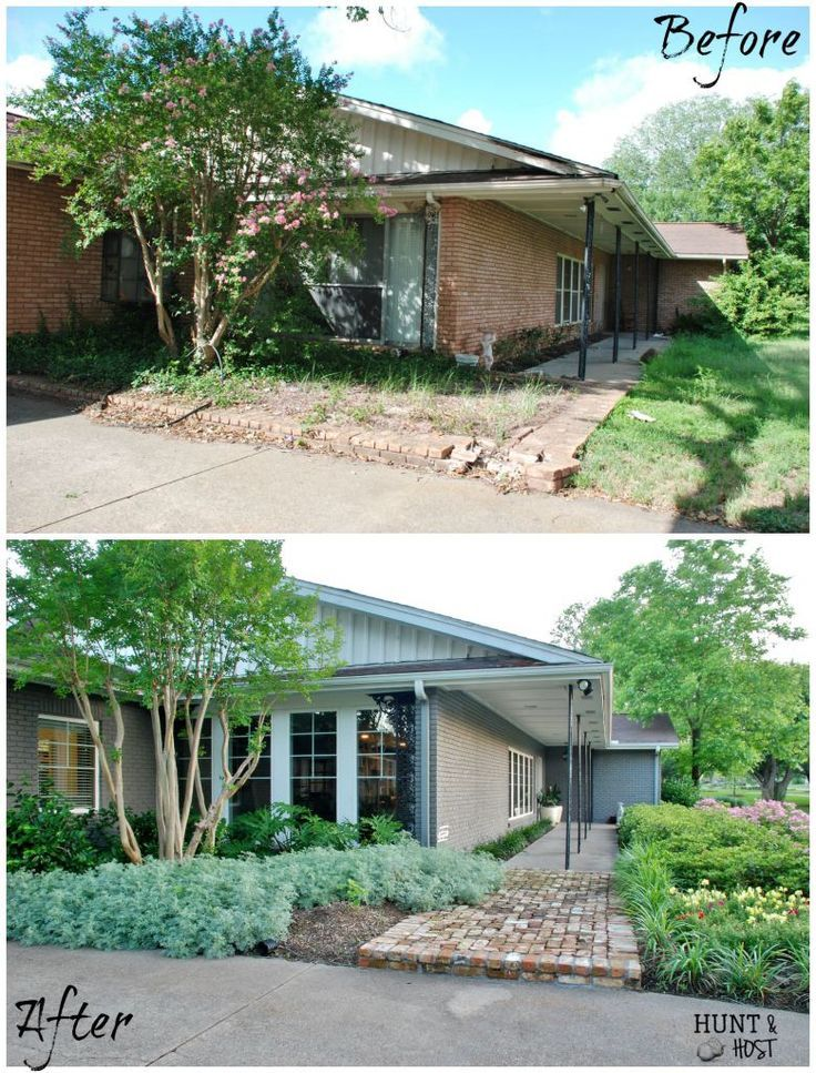 Hunt & Host Home Tour: Curb Appeal Transformation images