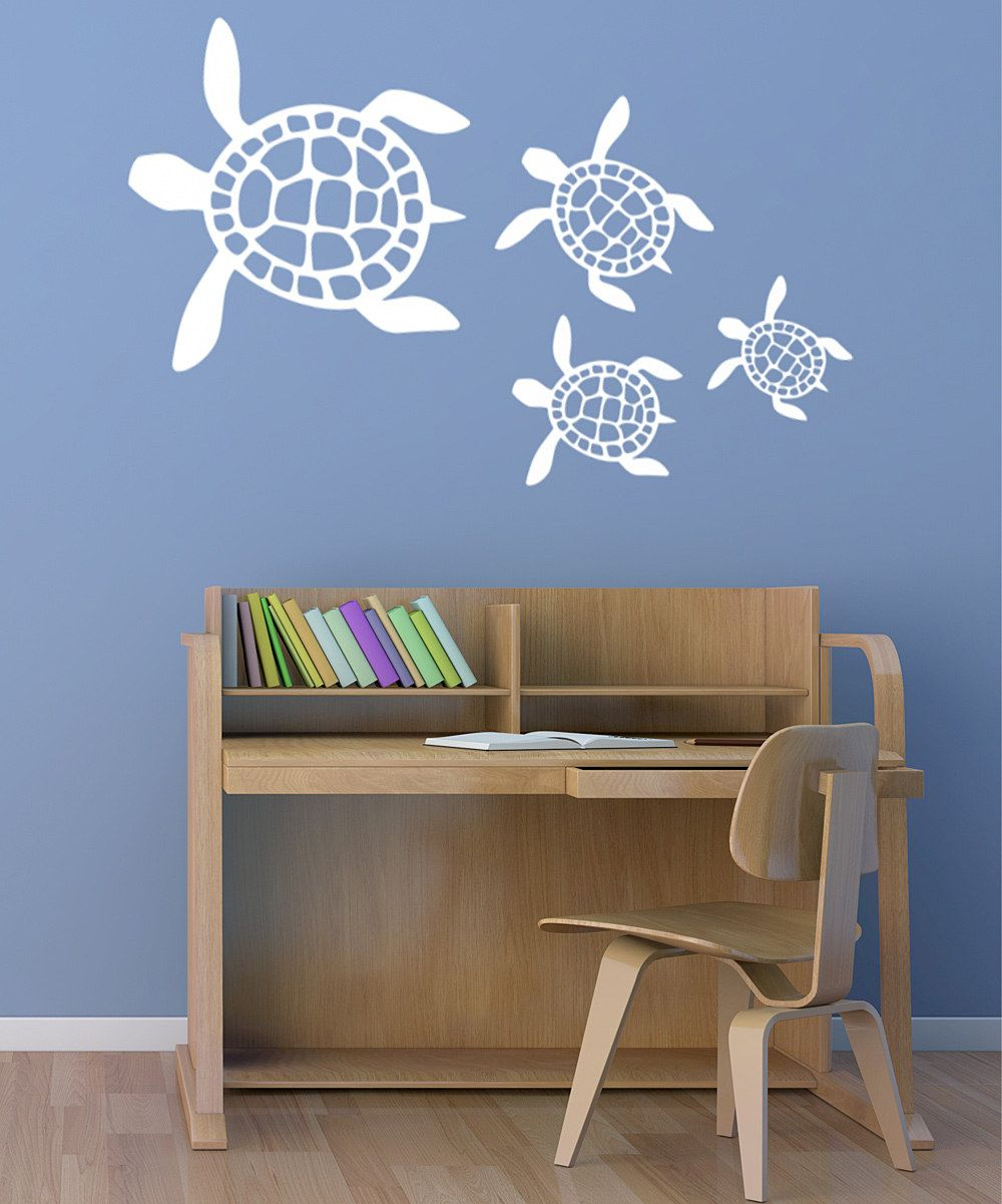 White Sea Turtles Wall Decal Set I Want This For My Cur
