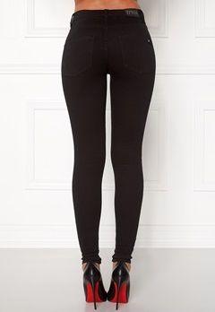 77thFLEA Adina highwaist jeans Black Bubbleroom.fi