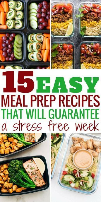 40+ Genius Meal Prep Ideas That Will Make Your Life Insanely Easy #mealprepplans