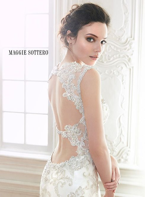Swooning over this gorgeous beaded sheath wedding dress bed4fb1d7bbf