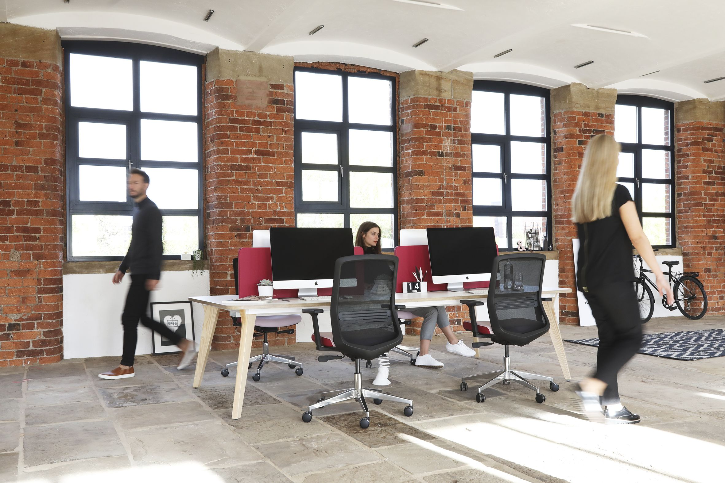 Lux Bench Desking Workstations By Elite