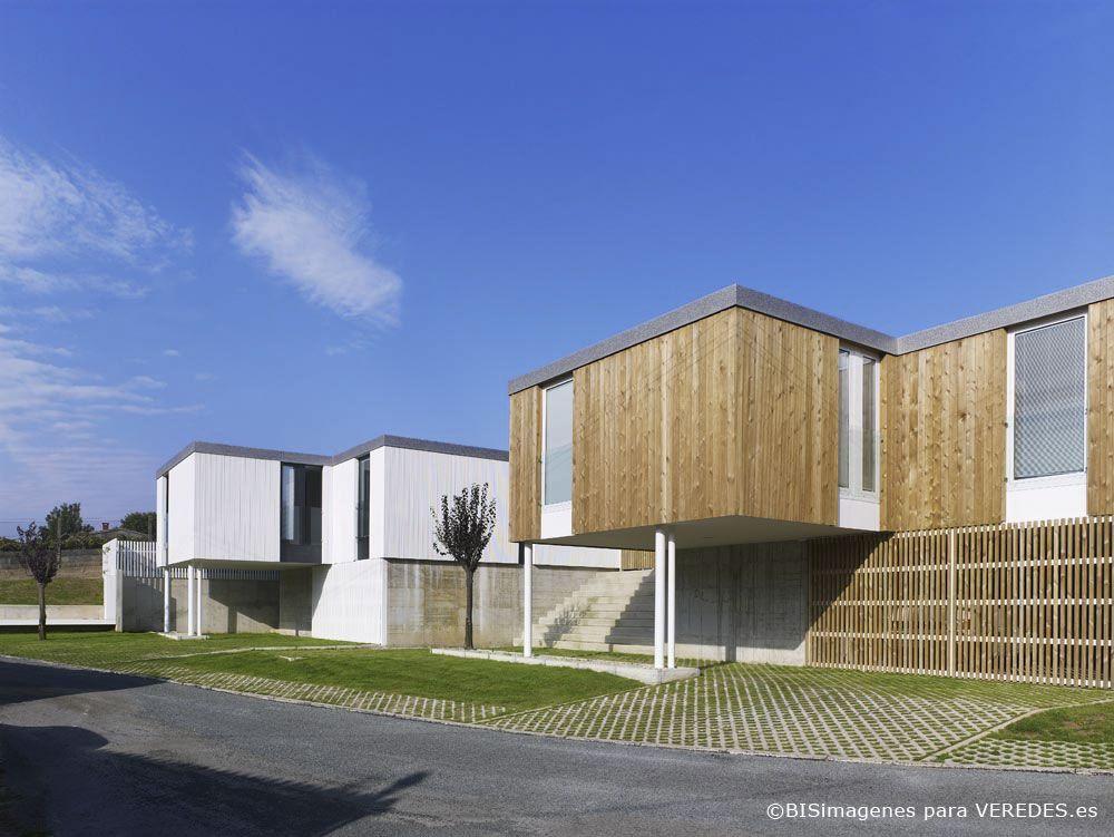 Casas modulares addomo en covas obras house styles for Casas prefabricadas galicia