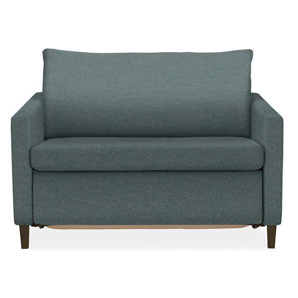 Cool Allston Thin Arm Day Night Sleeper Chair Living Room Bralicious Painted Fabric Chair Ideas Braliciousco