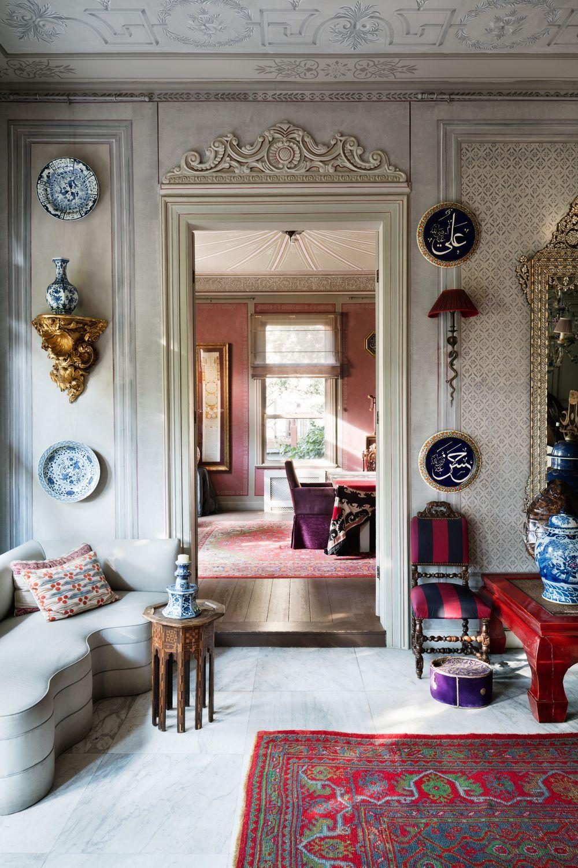 The Ottoman Chic Home Of Serdar Gulgun Eclectic Interior Design