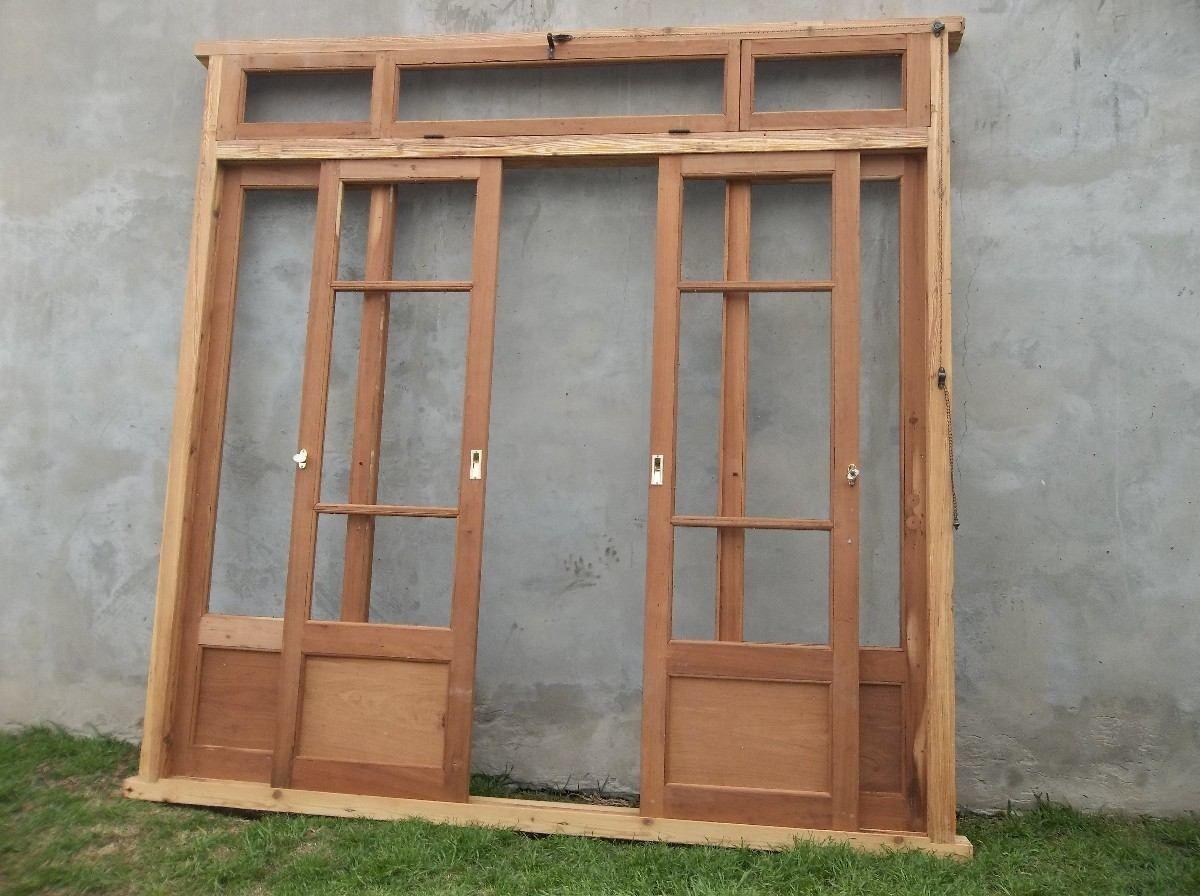 Puerta ventana corrediza inspiraci n de dise o de - Hacer una puerta de madera ...