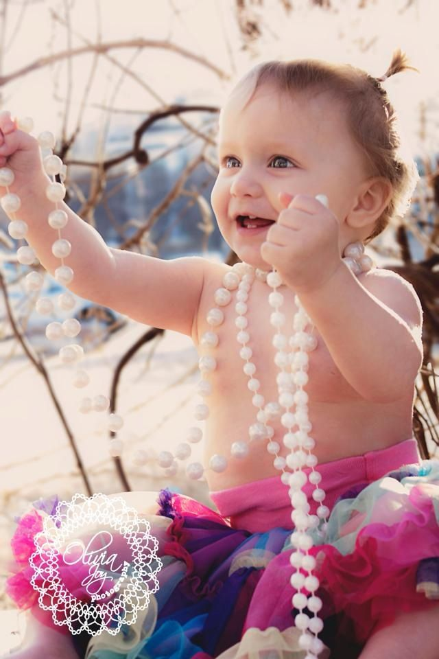 First Birthday Photos, Baby Girl, Photography