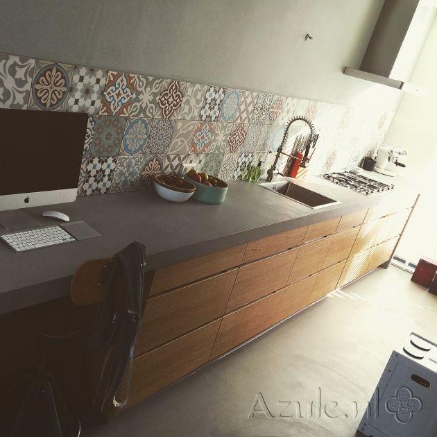 Innenarchitektur Carbone zementfliesen innenarchitektur kitchens kitchen