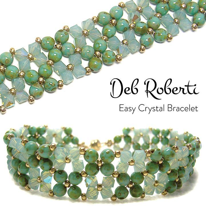 Photo of Easy Crystal Bracelet